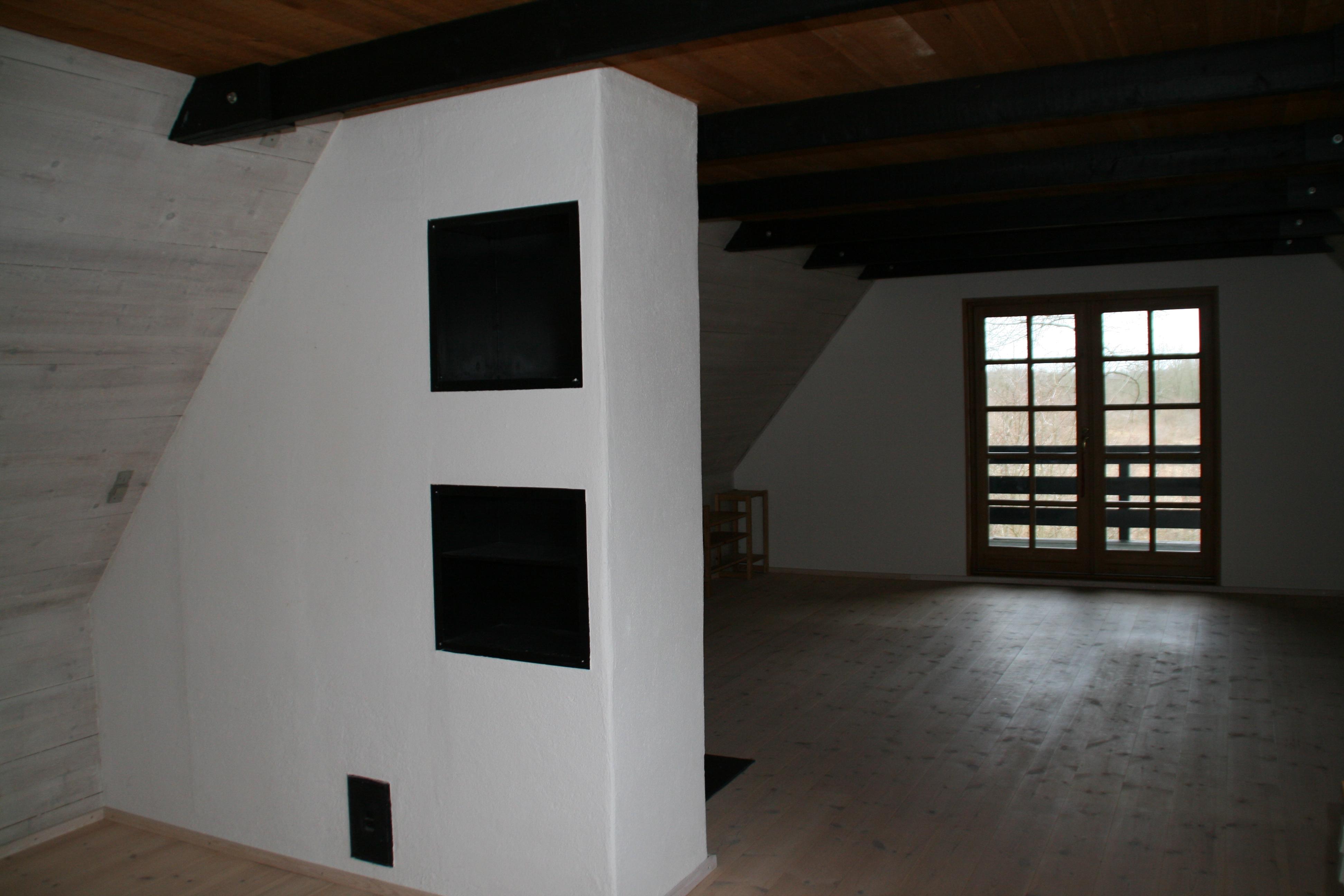 Loft til kip - før loftet tages ned