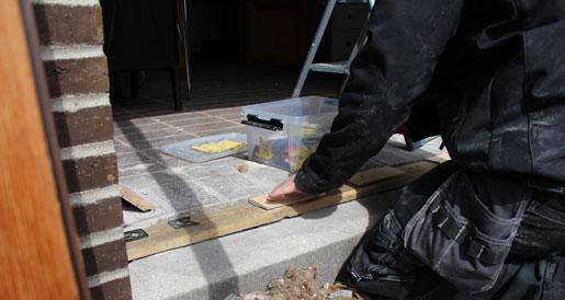 Job for en tømrer